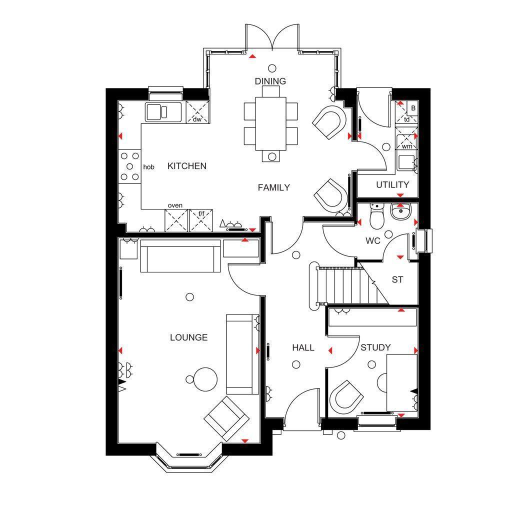 Floorplan 1 of 2: Holden Ground Floor
