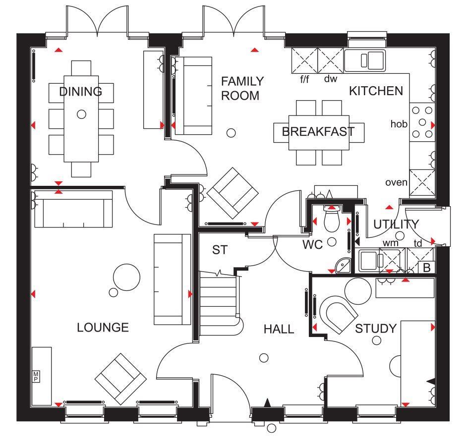 Floorplan 1 of 3: GF Plan