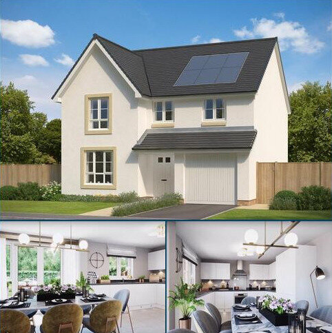 4 bedroom detached house for sale - Plot 68, Cullen at Wallace Fields - Phase 2, Auchinleck Road, Glasgow, GLASGOW G33