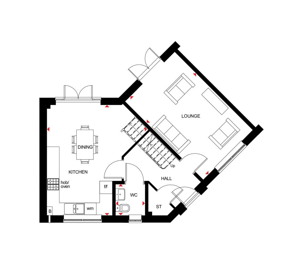 Floorplan 1 of 2: Floor Plan G