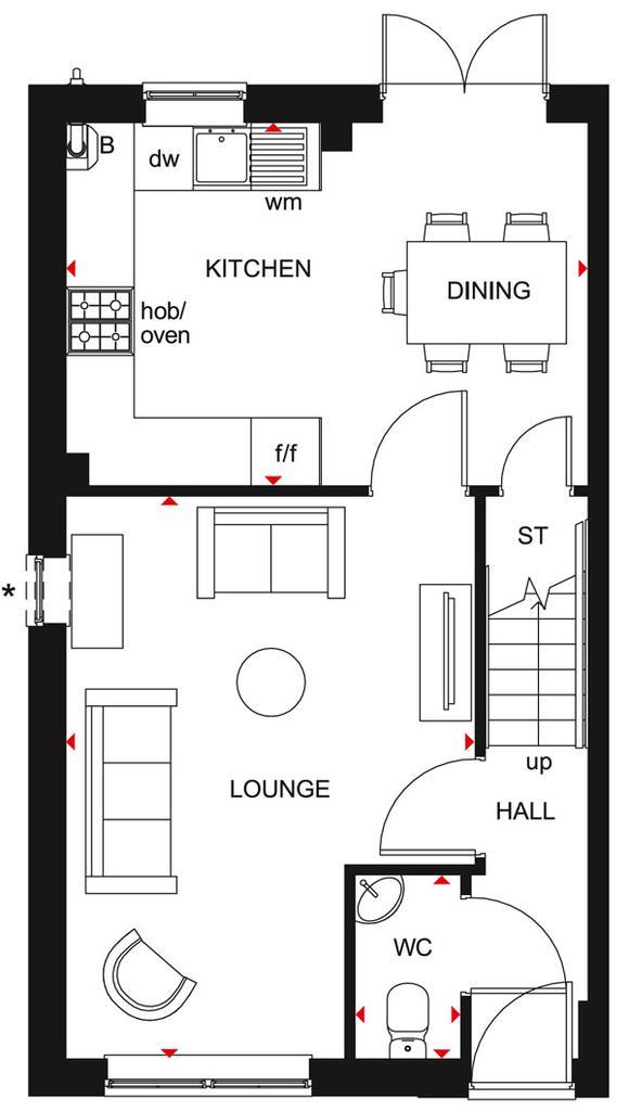 Floorplan 1 of 2: Maidstone GF Plan