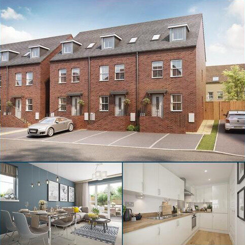 3 bedroom end of terrace house for sale - Plot 59, Norbury at Longford Park, Bankside, Banbury, BANBURY OX16