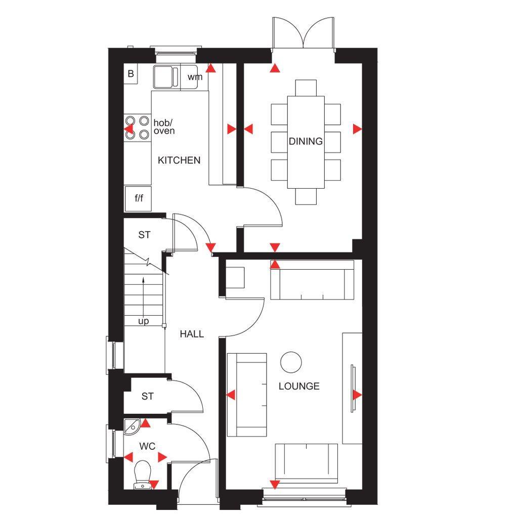 Floorplan 1 of 3: Fircroft ground floor