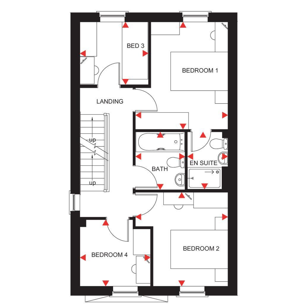 Floorplan 2 of 3: Fircroft first floor