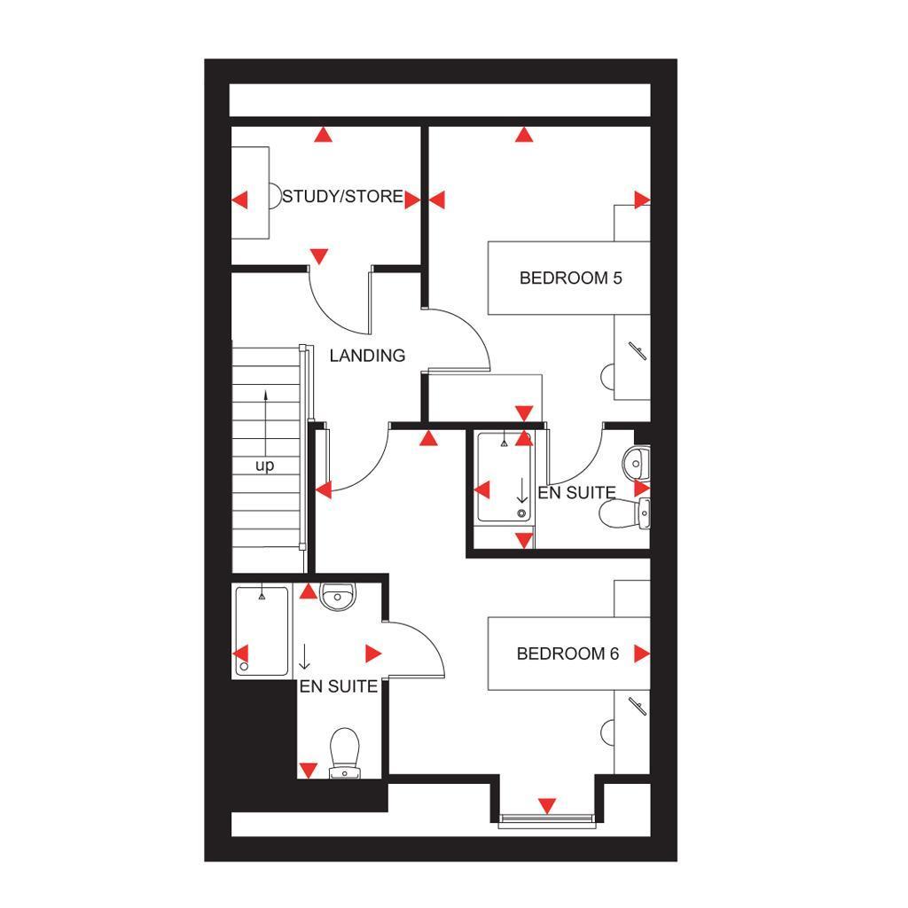 Floorplan 3 of 3: Fircroft second floor