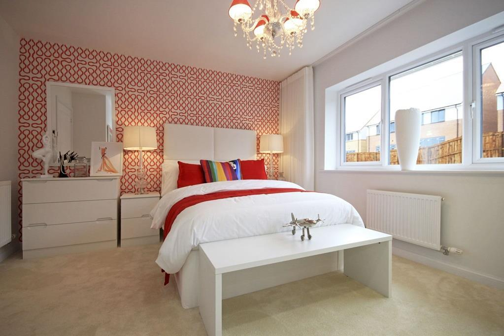 The Dean showhome bedroom