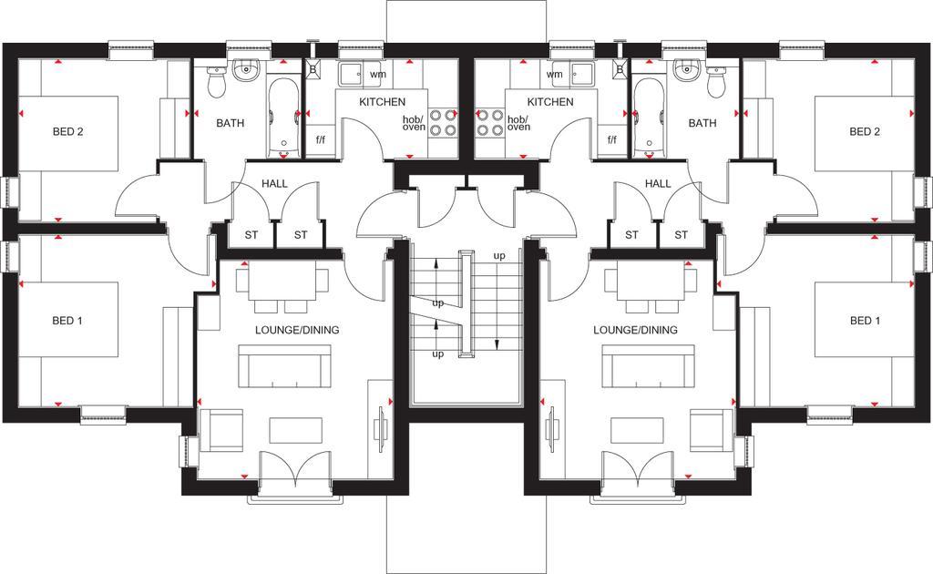 Floorplan: Falkirk FF Plan