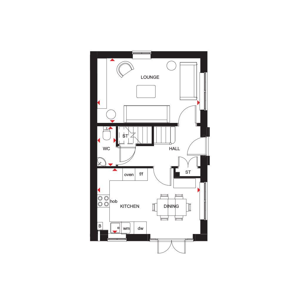 Floorplan 1 of 2: GF Plan