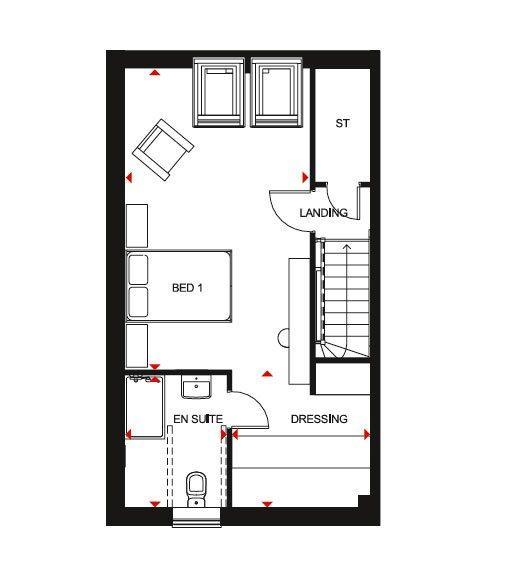 Floorplan 1 of 3: Woodcote SF
