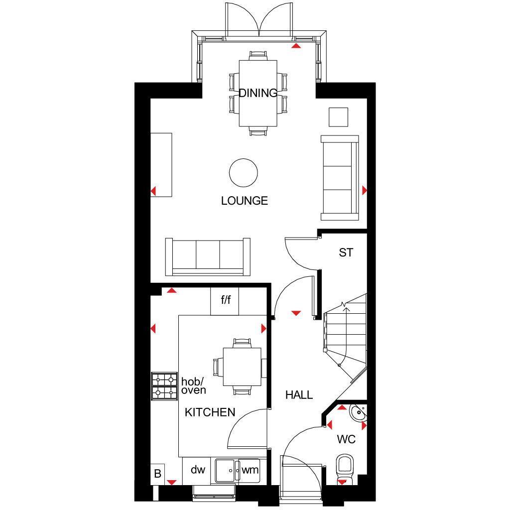 Floorplan 2 of 3: Woodcote GF