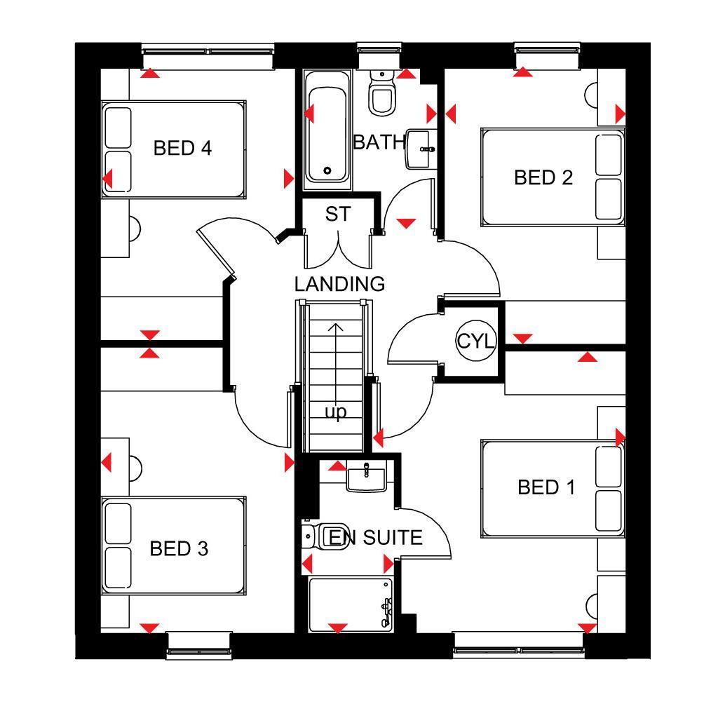 Floorplan: Gf