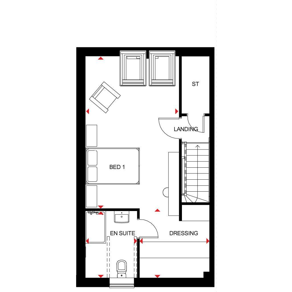 Floorplan 2 of 3: Woodcote SF