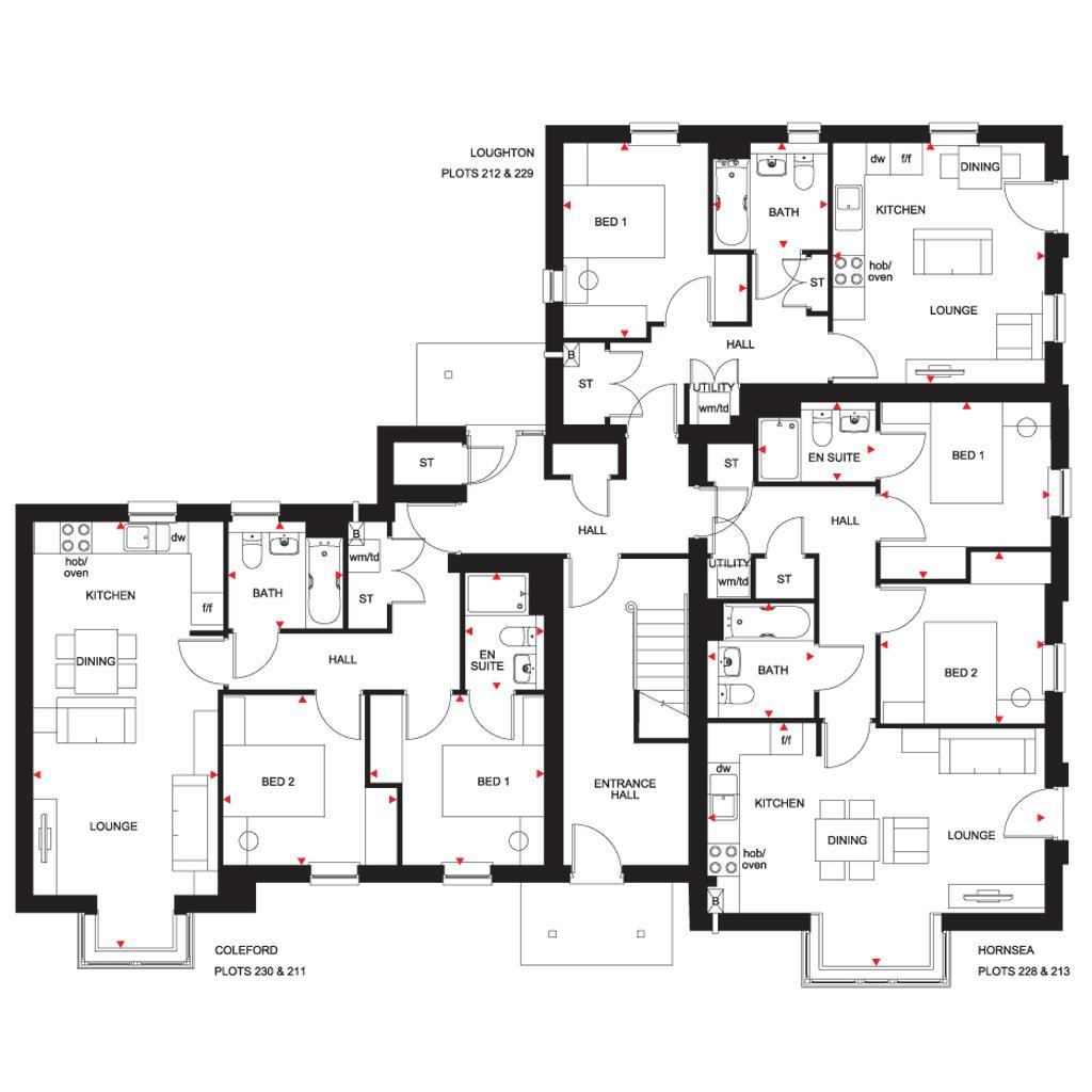 Floorplan: The Hornsea