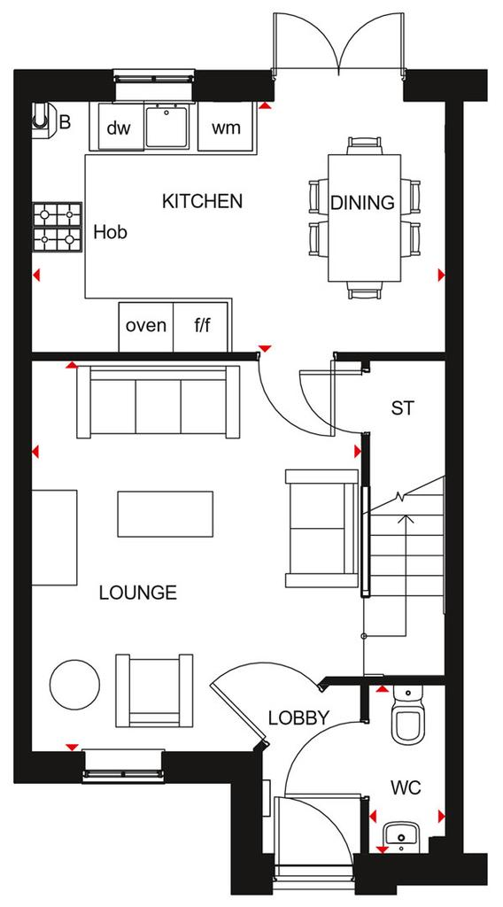 Floorplan 1 of 2: Palmerston GF