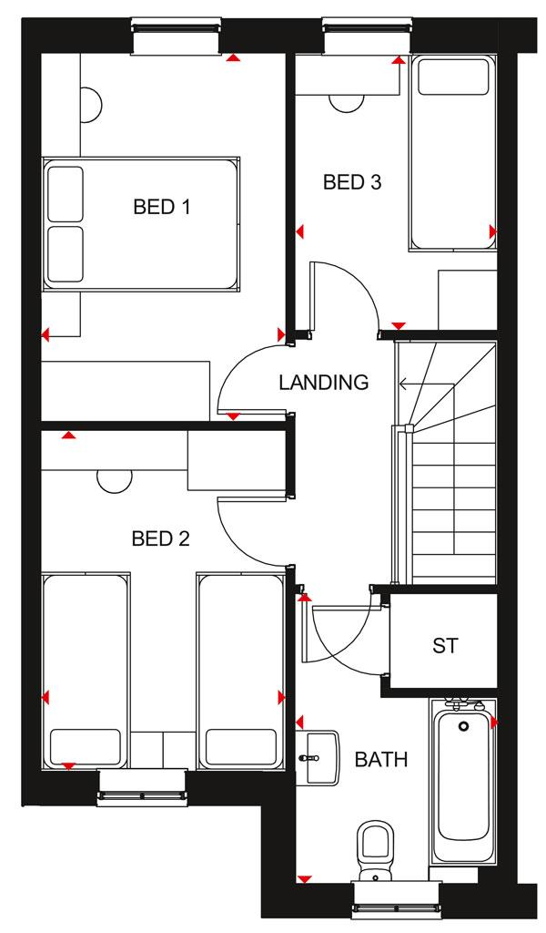 Floorplan 2 of 2: Pamerston FF