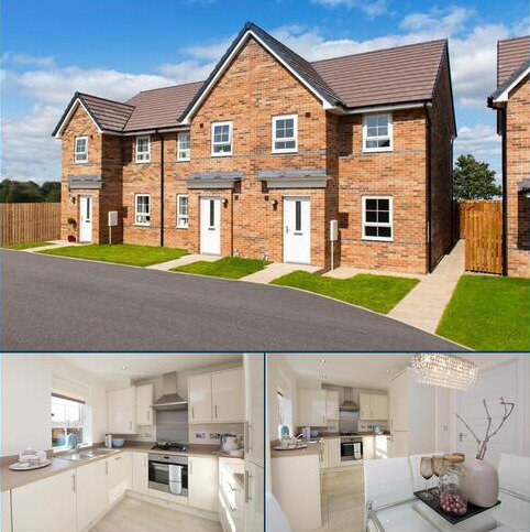 3 bedroom terraced house for sale - Plot 261, Palmerston at Berry Edge, Genesis Way, Consett, CONSETT DH8
