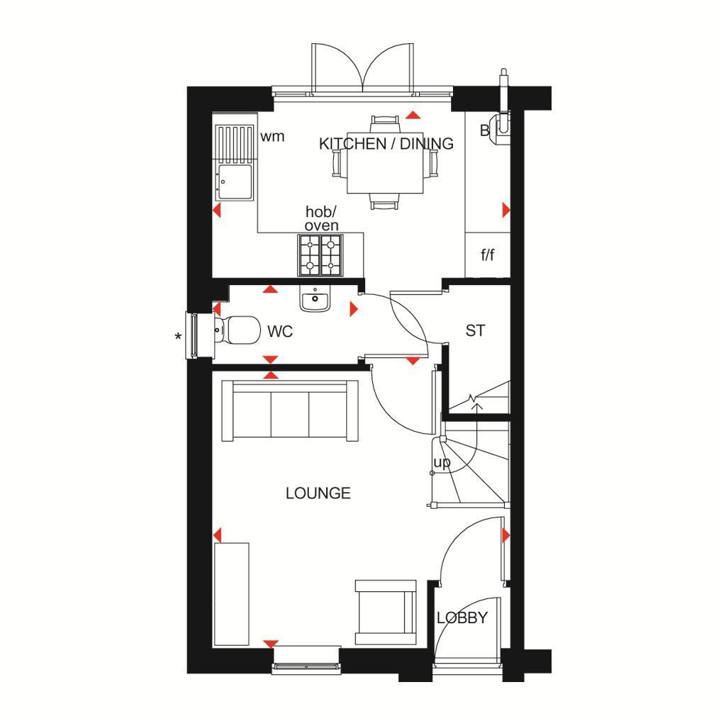Floorplan 1 of 2: Kenley GF