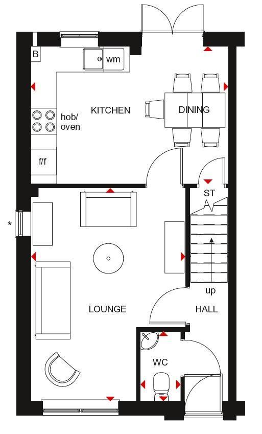 Floorplan 2 of 2: GF Plan