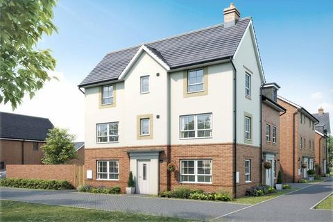 3 bedroom semi-detached house for sale - Plot 1, Brentford at Barratt Homes at Kingsbrook, Burcott Lane, Aylesbury, AYLESBURY HP22