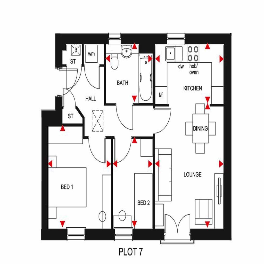 Floorplan: Plot 7 Maldon
