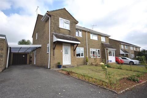 3 bedroom semi-detached house for sale - North Crescent, Milborne Port, Somerset, DT9