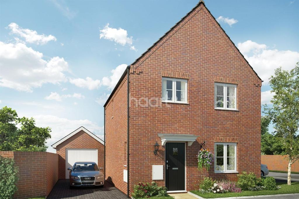 The Bluebell Saxon Fields 3 Bed Detached House For Sale
