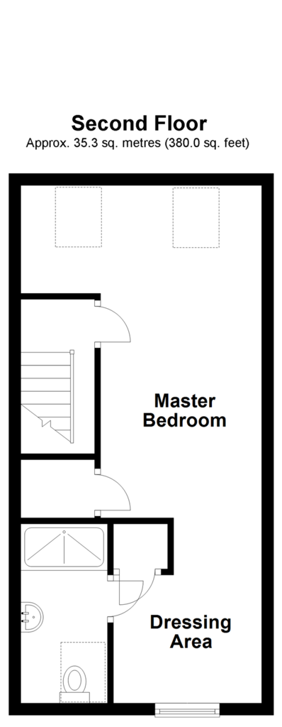 Floorplan 2 of 3: Second Floor