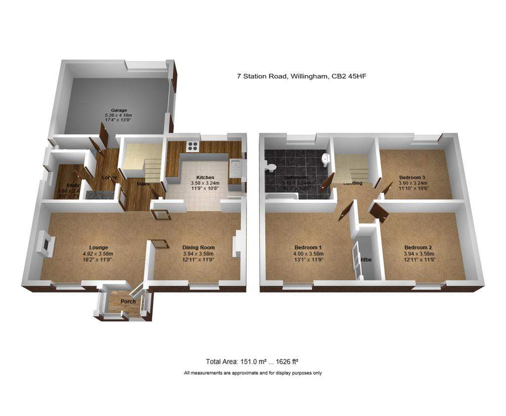 Floorplan 2 of 2: 3 D Floor Plan