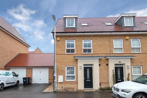 3 bedroom end of terrace house for sale - Bank Avenue, Dunstable, Bedfordshire