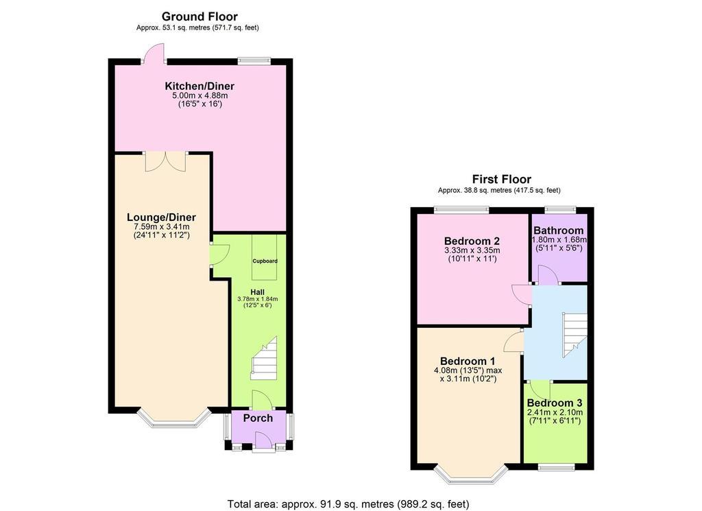Floorplan: 64 Grayswood Ave.jpg