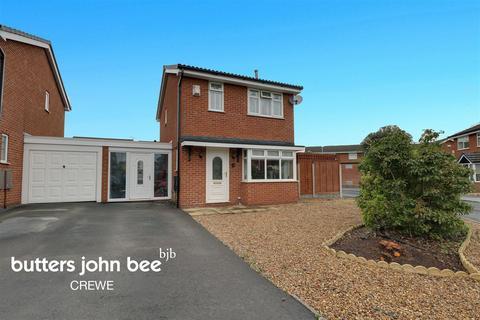 3 bedroom detached house for sale - Bodnant Close, Crewe