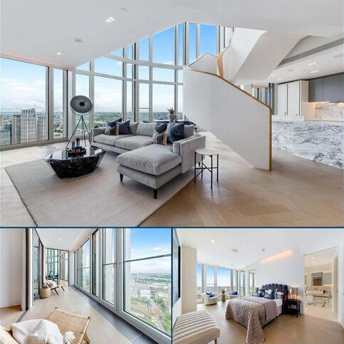 3 bedroom flat to rent - Upper Ground, South Bank Tower, London, SE1
