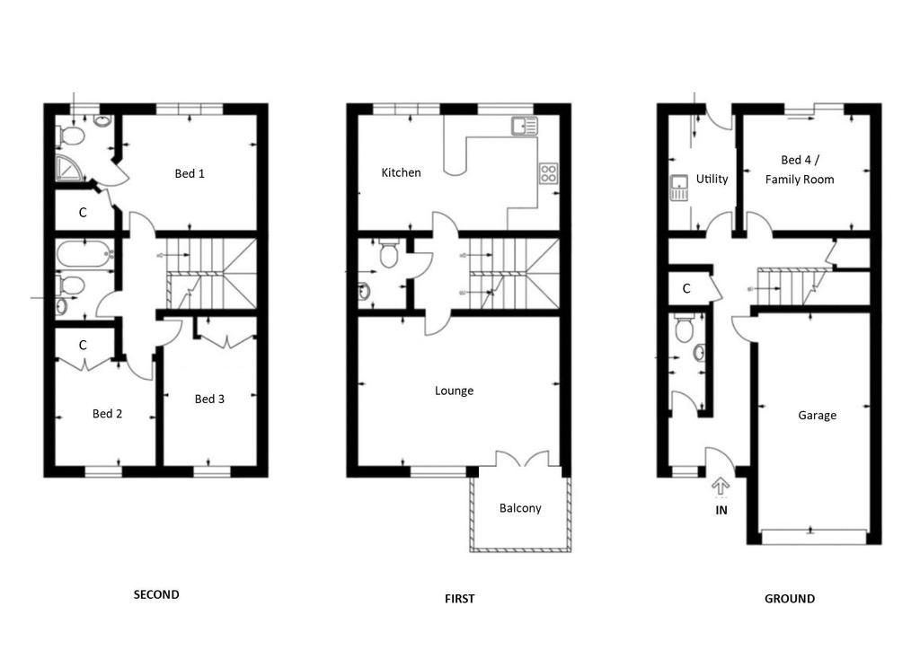Floorplan: 16 Bankwood Drive