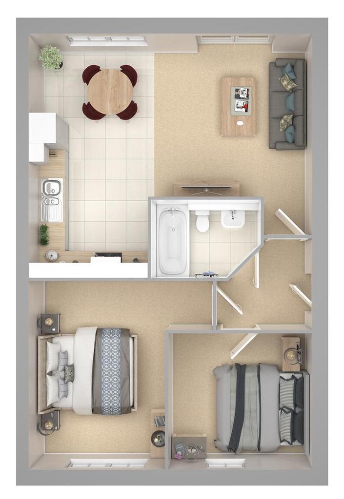 Floorplan: Griston Road Apartment Flat 9,13 & 14.jpg