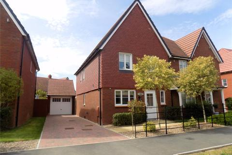 3 bedroom semi-detached house for sale - William Morris Way, Tadpole Garden Village, Swindon, Wiltshire, SN25