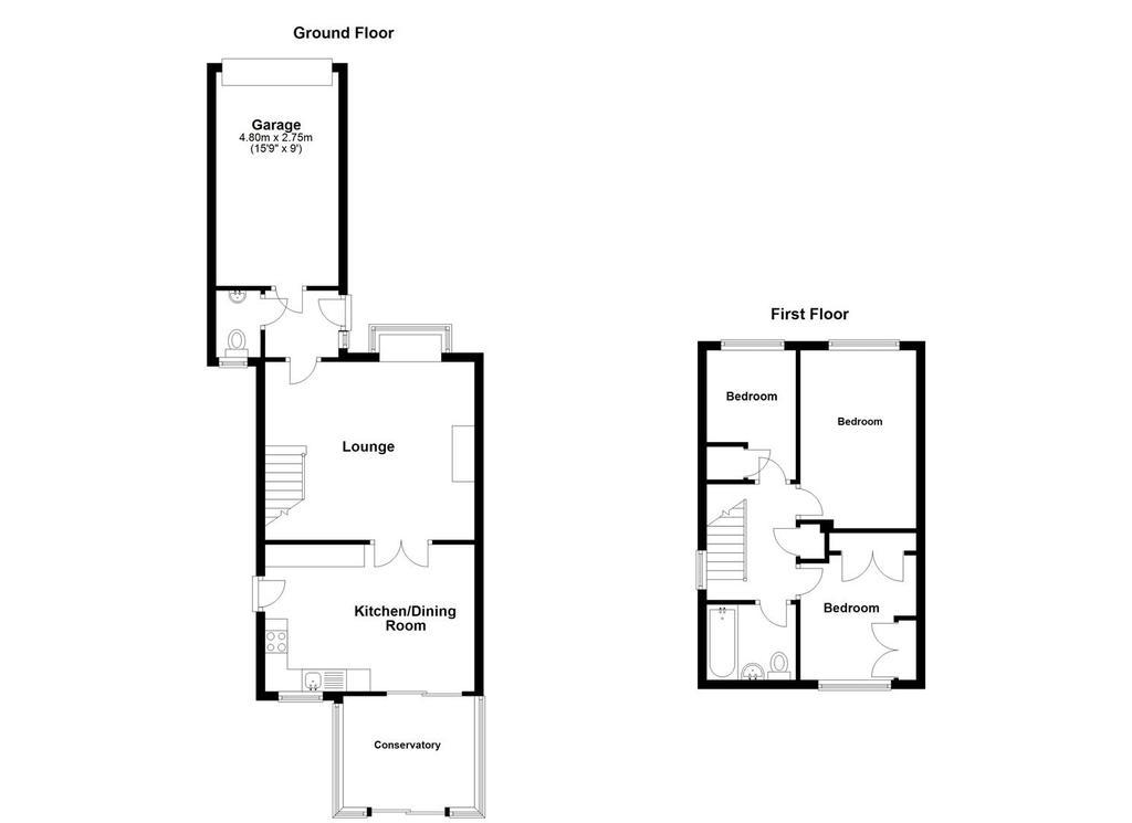 Floorplan: 23 Rhodewood Close, Downswood (Floorplan).jpg