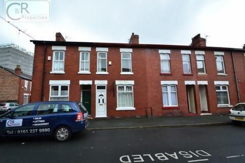 3 bedroom terraced house to rent - Stanley Avenue, Rusholme, Manchester. M14 5HB.