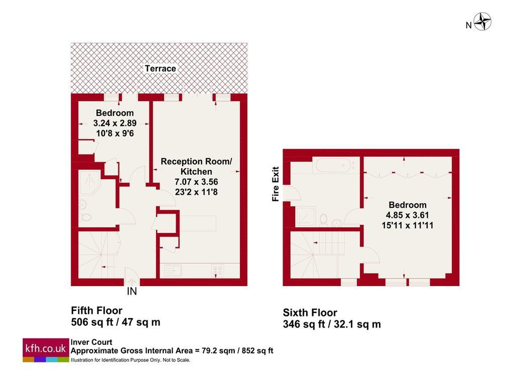 Floorplan: Inver Court
