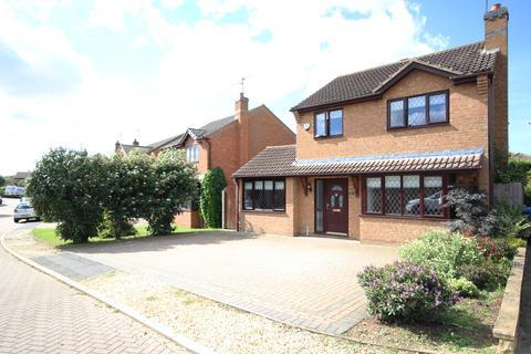3 bedroom detached house for sale - Brampton Close, Barton Seagrave, NN15