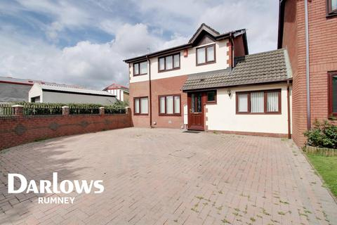 4 bedroom detached house for sale - Willowherb Close, St Mellons, Cardiff