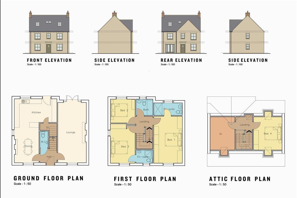 Floorplan 1 of 8: Type A1