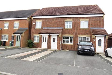 3 bedroom townhouse for sale - Rothbury Drive, Portland Park Estate, Ashington