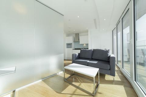 Studio to rent - Arena Tower, 25 Crossharbour Plaza, Canary Wharf, London, E14
