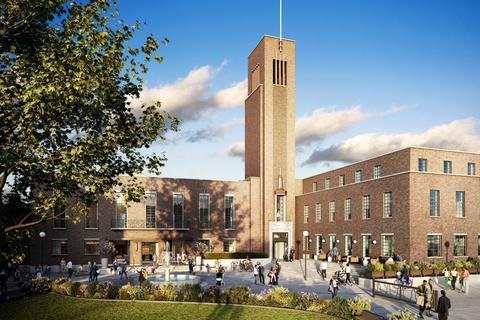 1 bedroom apartment for sale - Hornsey Town Hall, Crouch End, London  N8