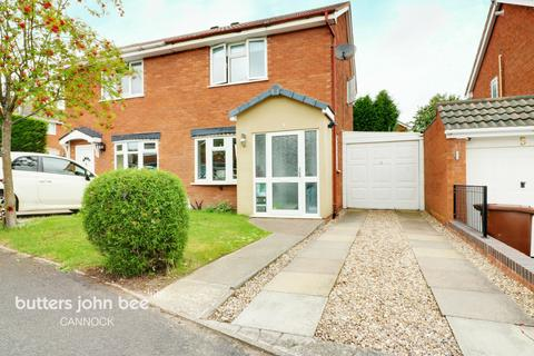 2 bedroom semi-detached house for sale - Spindlewood Close, Cannock