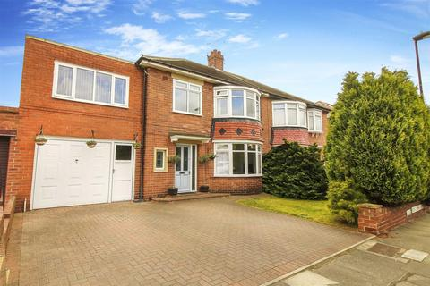 5 bedroom semi-detached house for sale - West Dene Drive, North Shields