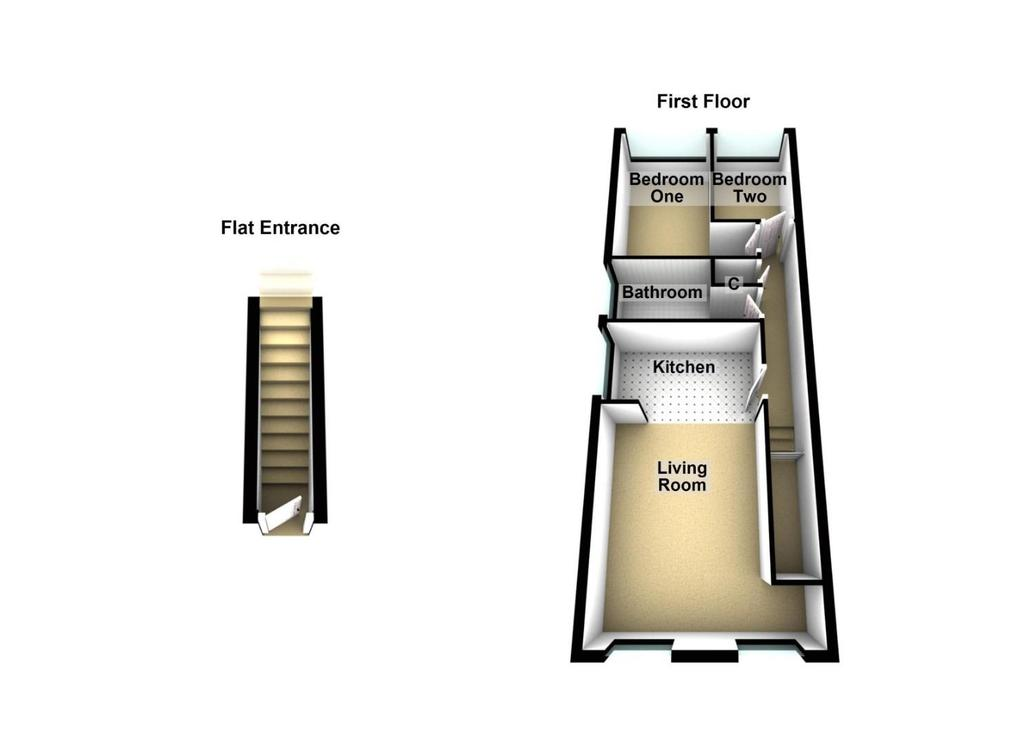 Floorplan: 3 Curell House, New York Road, North Shields.JPG