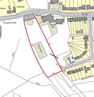 Plot for sale - Coelbren, Neath