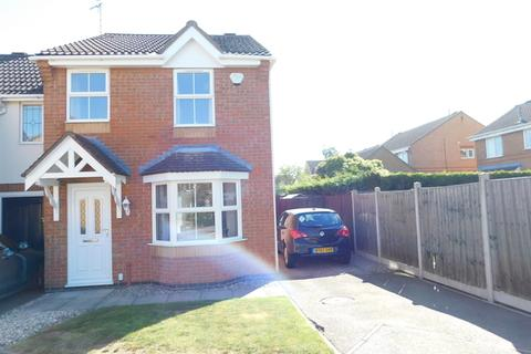3 bedroom end of terrace house for sale - Merlin Close, Leicester Forest East, Leicester, LE3