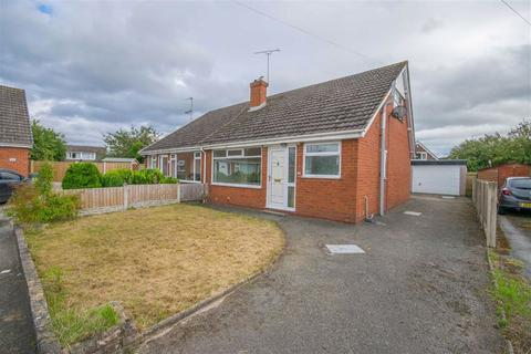 2 bedroom semi-detached bungalow for sale - Madeley Close, Broughton, Chester